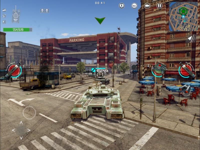 Infinite Tanks 5
