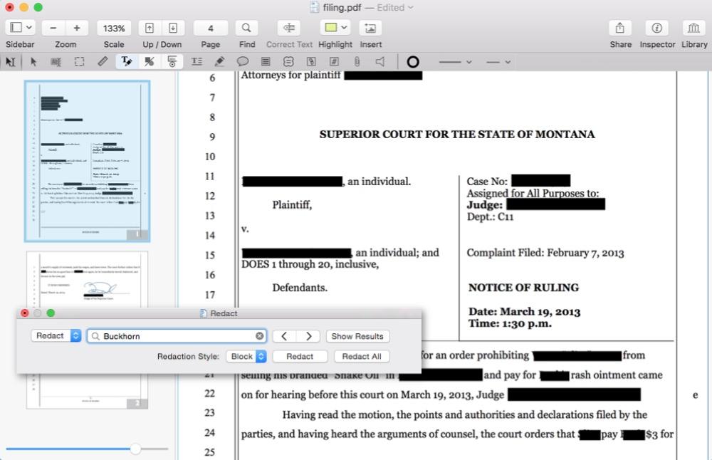 PDFpen Mac 1
