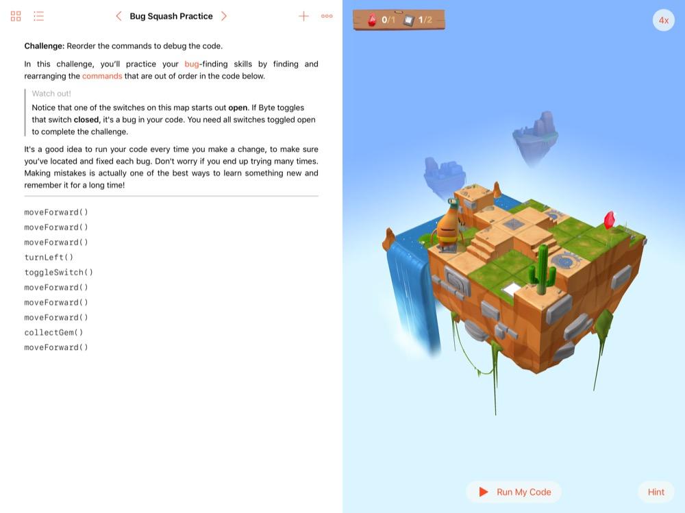 Swift Playgrounds 2