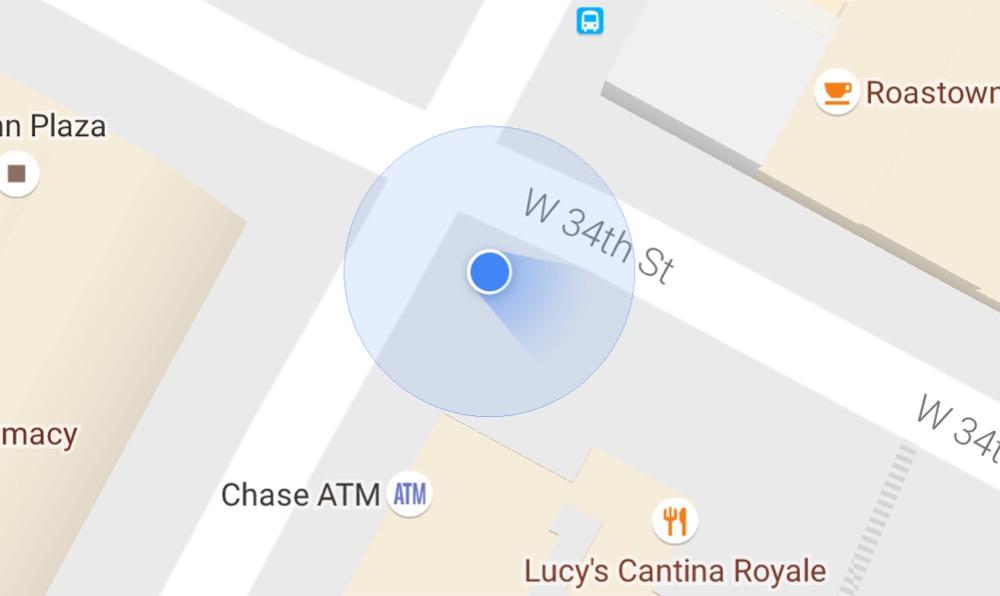 compass google maps