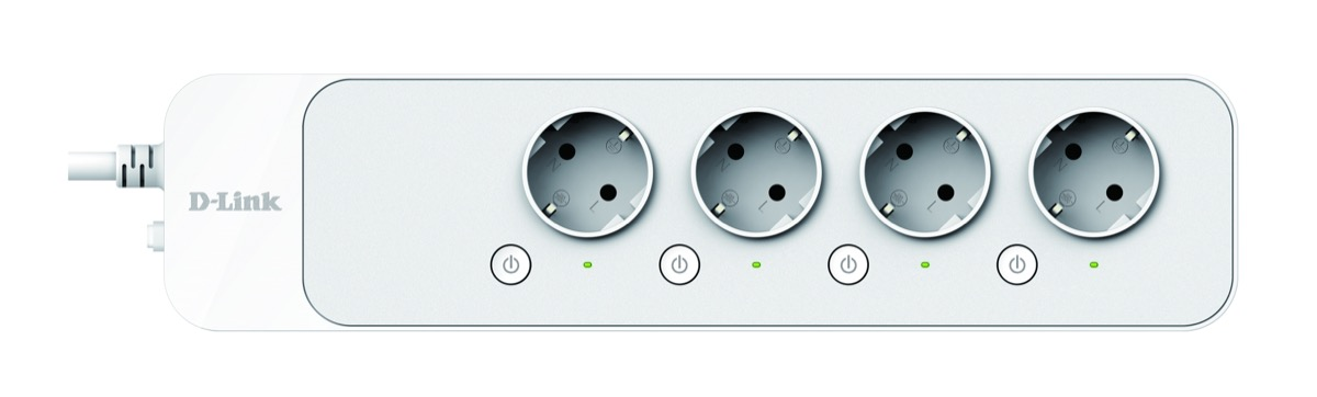 D-Link Smart Home DSP-W245 mydlink Home Intelligente Steckdosenleiste
