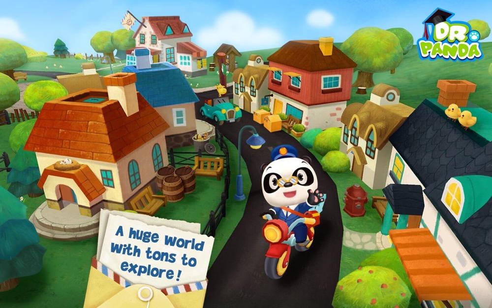 dr panda postbote