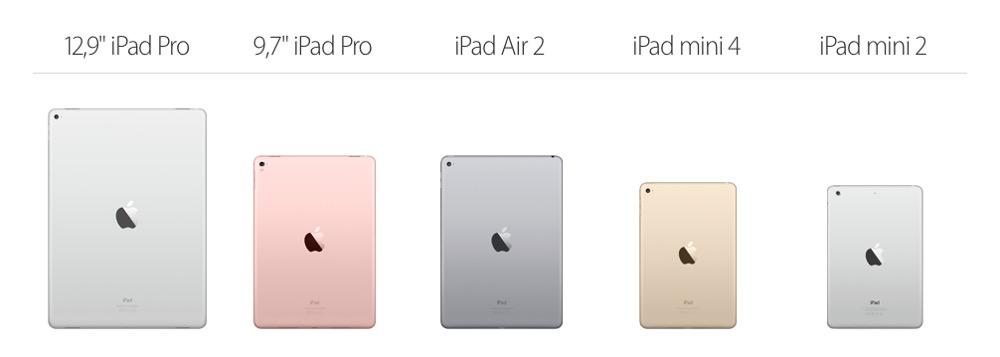 iPad Modelle
