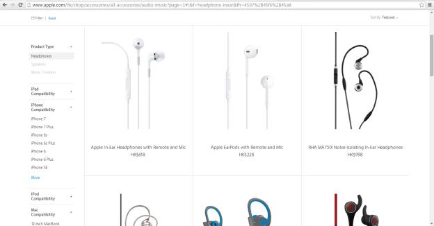 iPhone 7 Apple Online Store