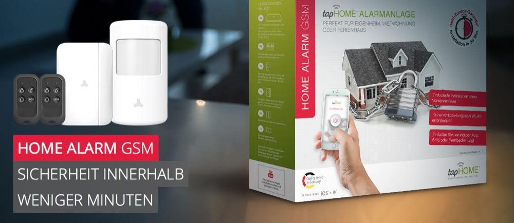 tapHome Alarm GSM