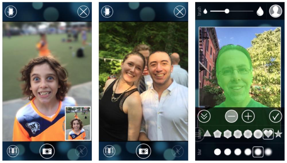 bilder unscharf machen app