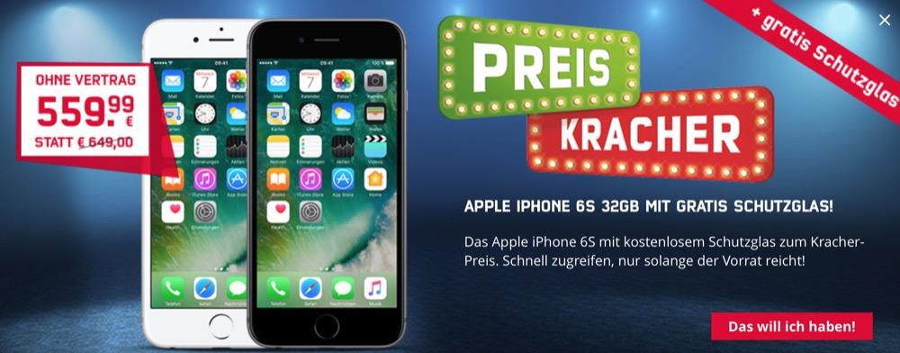 Preiskracher iPhone 6s