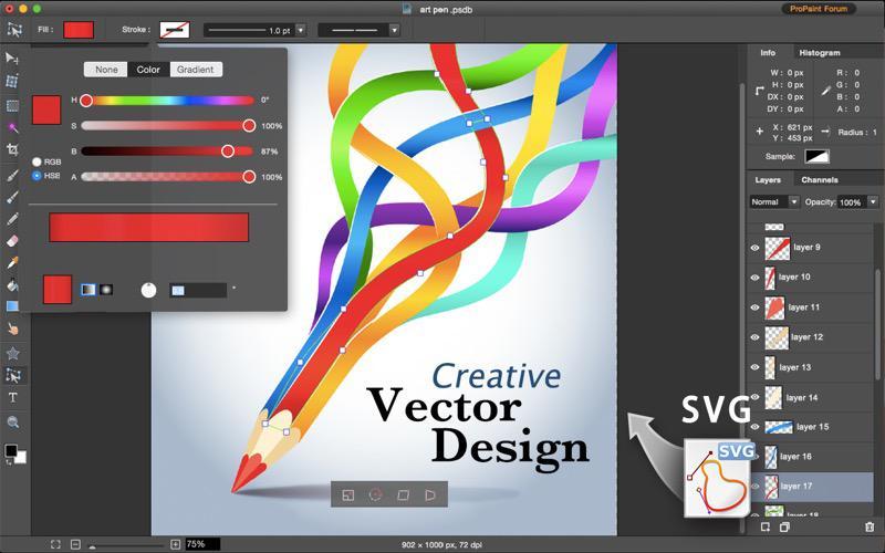 pro paint vector