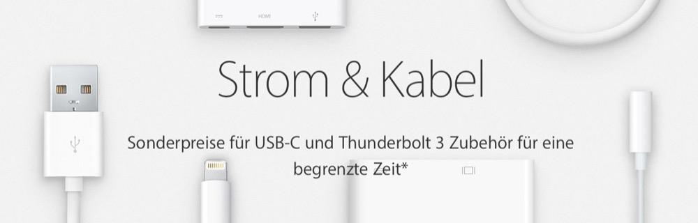 Apple USB-C Aktion