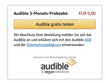 Audible Angebot