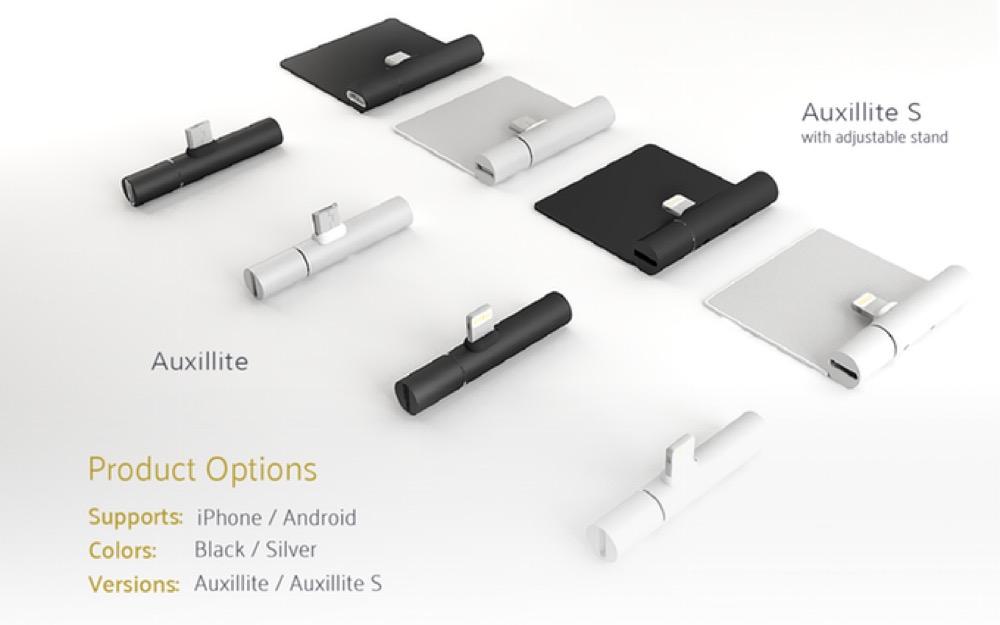 Auxillite S Kickstarter