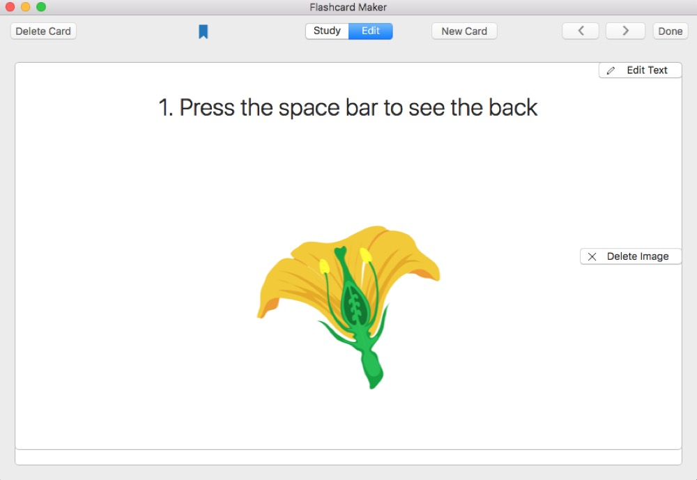 Flashcard Maker Mac