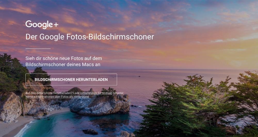 google bildschirmschoner gratis bilderserien f r mac nutzer. Black Bedroom Furniture Sets. Home Design Ideas