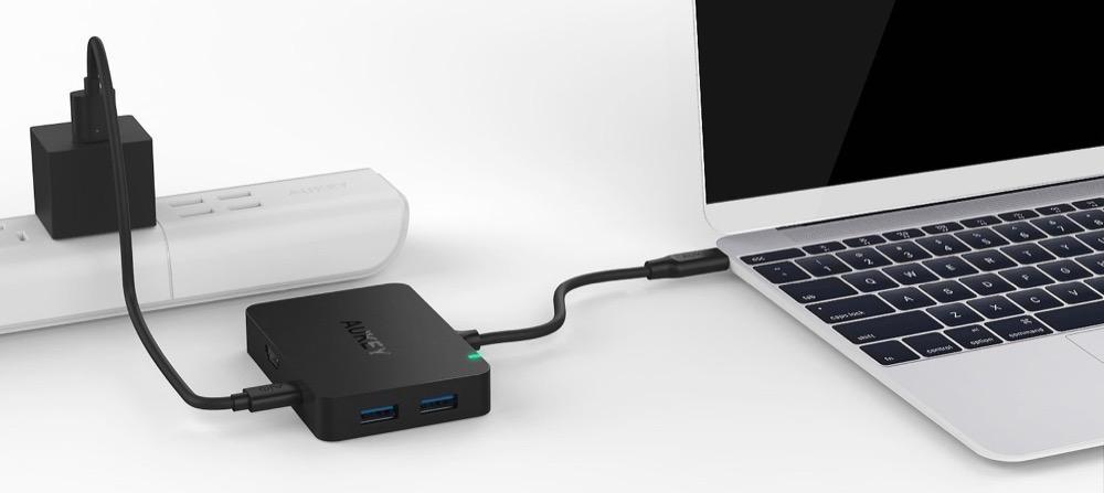 Aukey USB C Hub 1