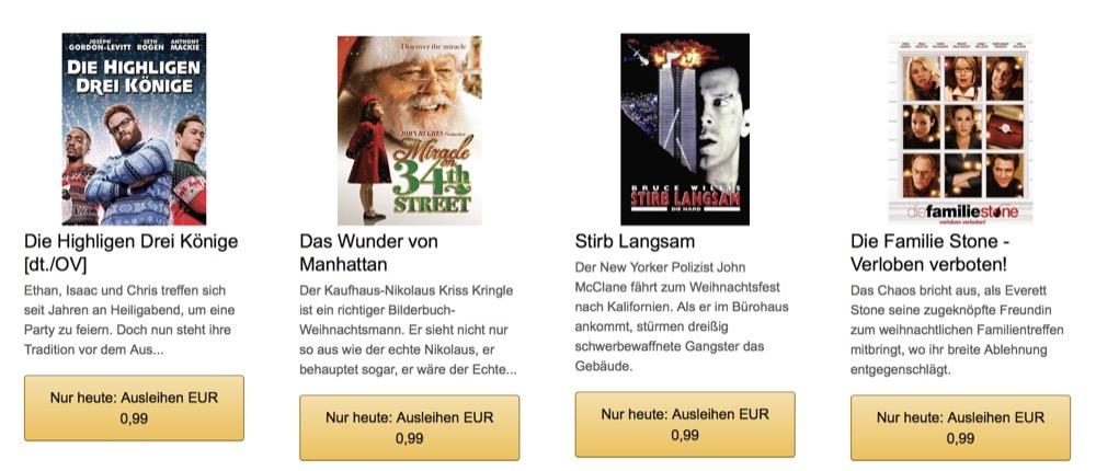 Filmeabend Amazon Weihnachten
