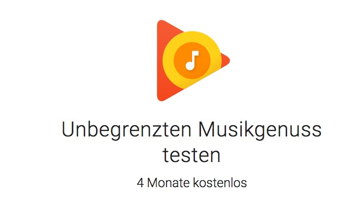 Google Play music 4 gratis