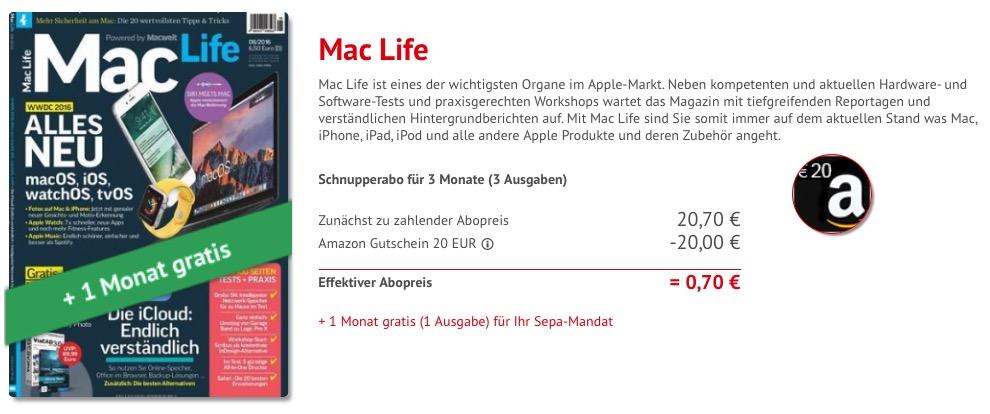 Mac Life Abo