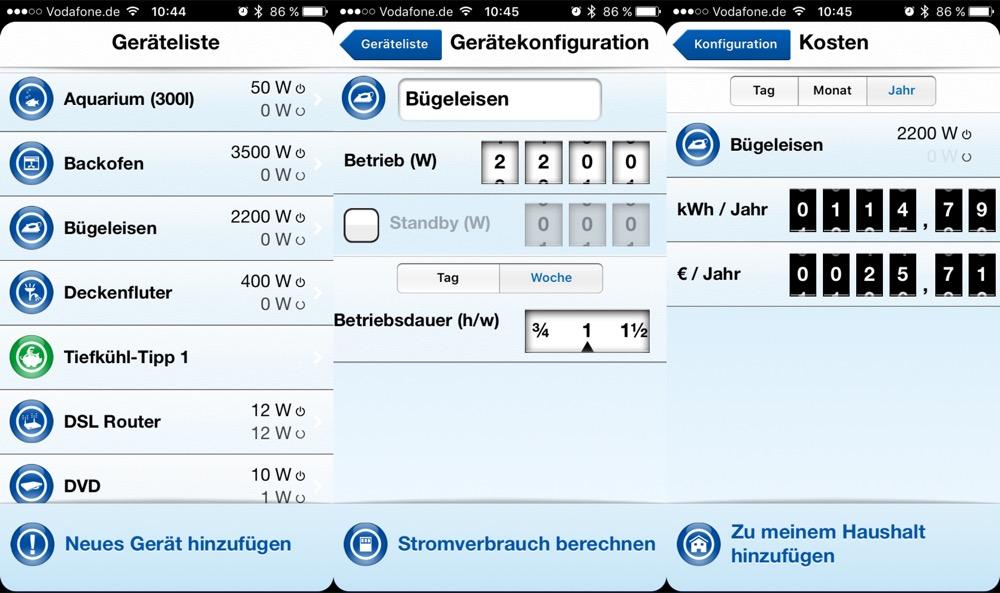 RWE Stromrechner