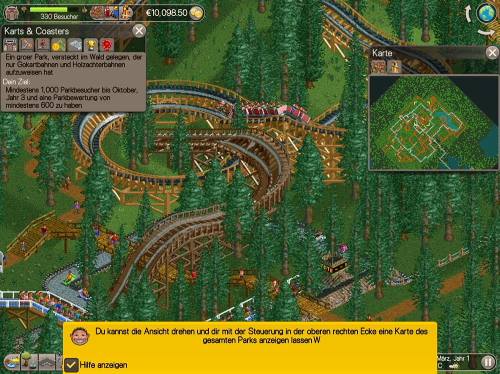 RollerCoaster Tycoon Classic 3