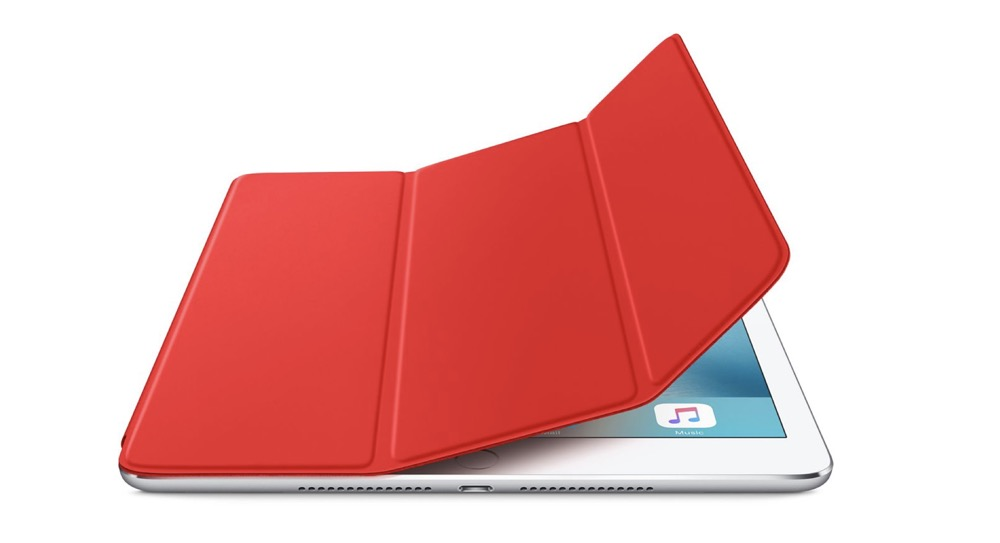 iPad Air 2 Smart Cover red