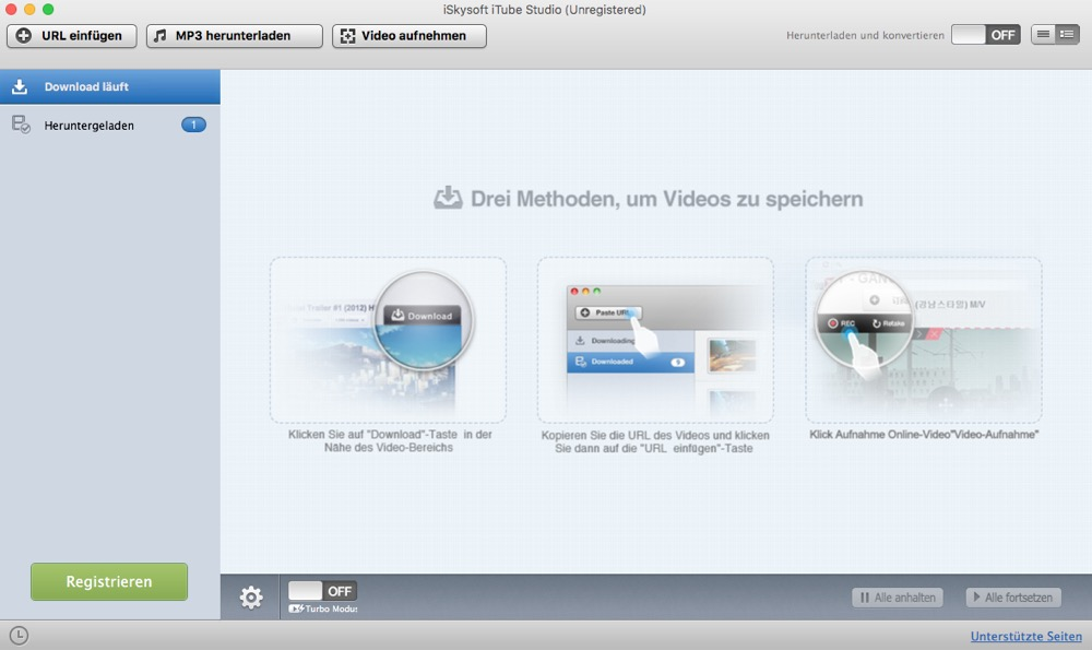 iTube Studio Mac