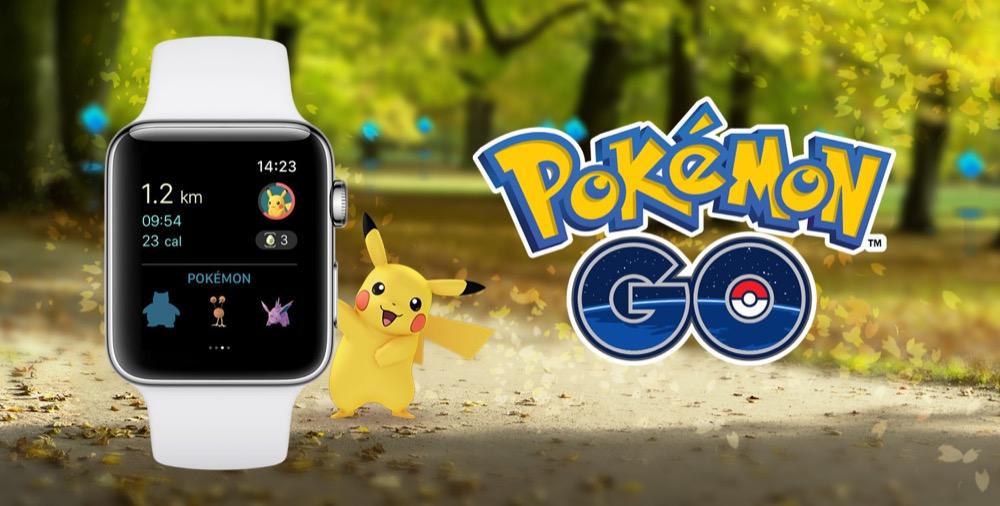 pokemon go apple-watch