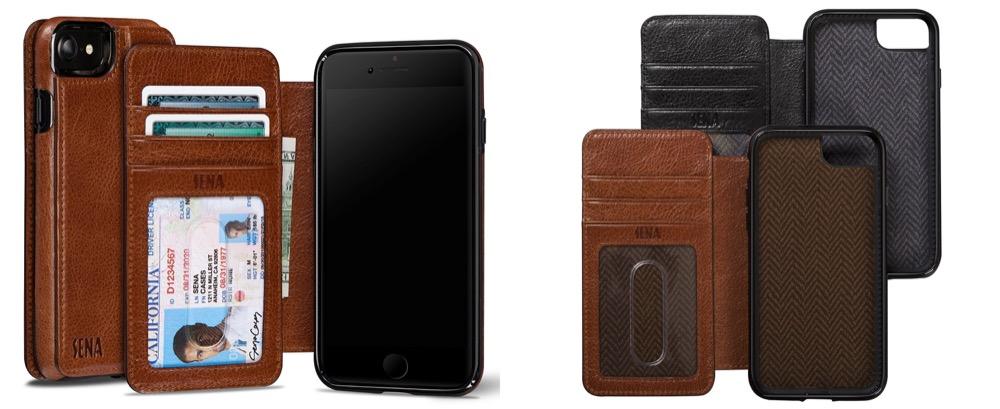 sena cases wallet book
