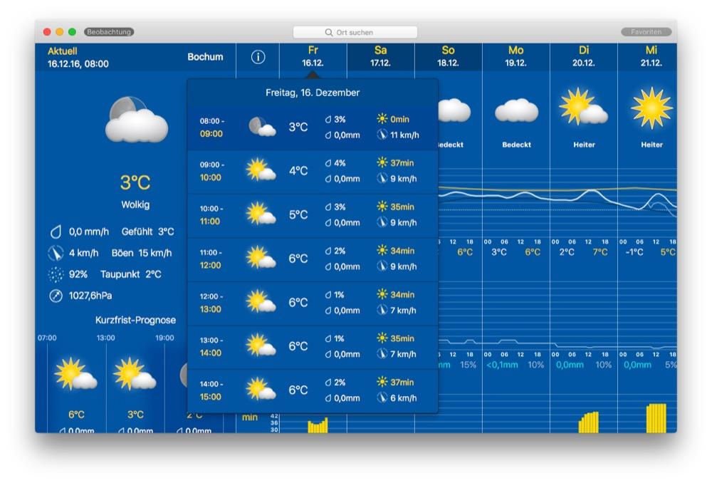 weatherPro mac
