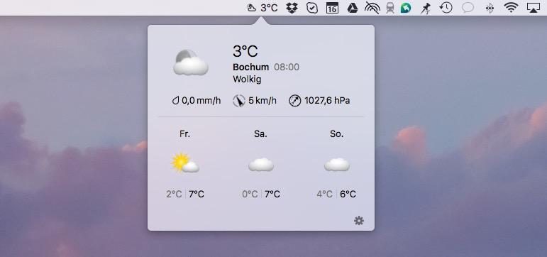 weatherpro mac vorschau
