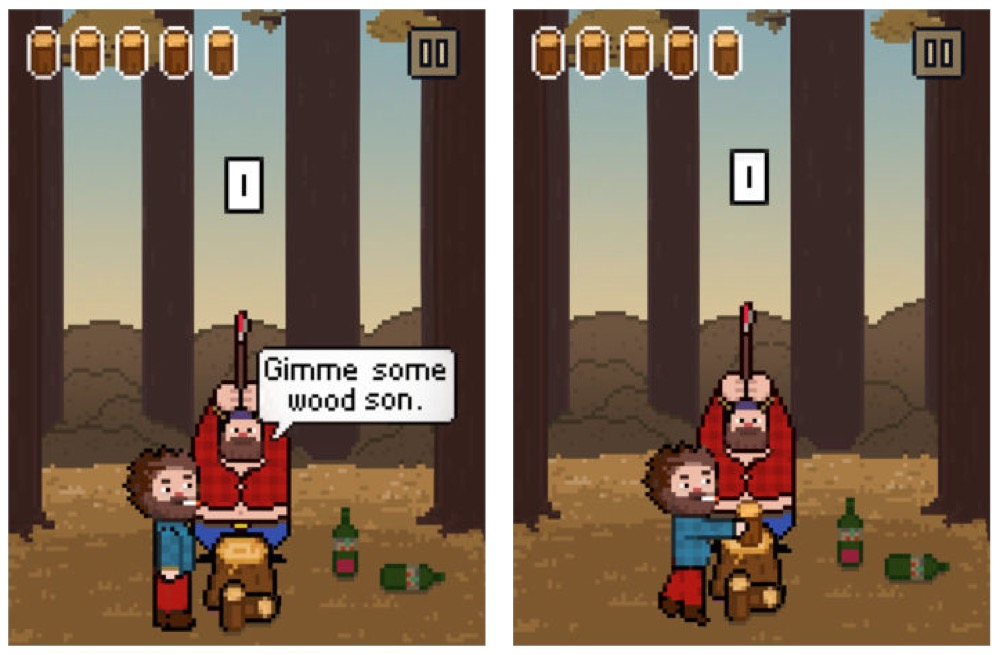 Chopping Wood With My Dad Simulator
