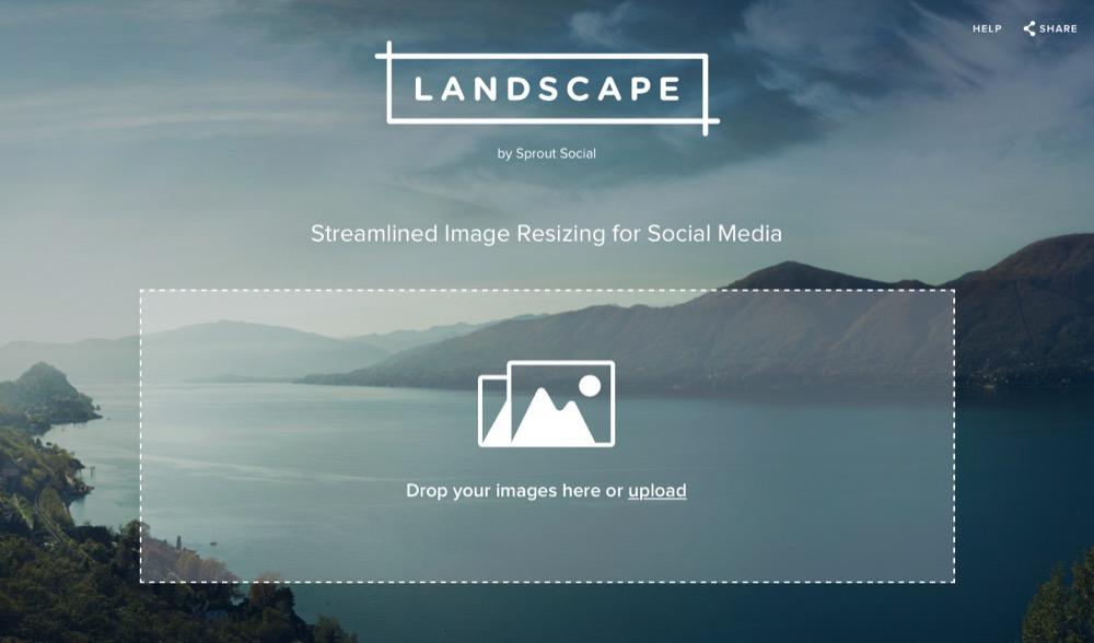 Landscape Web-App