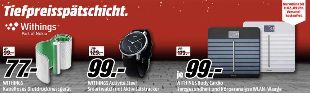 Media Markt Withings