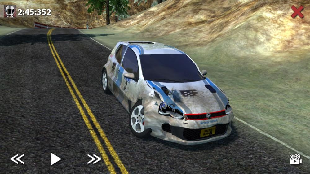 Rush Rally 2 Schaden