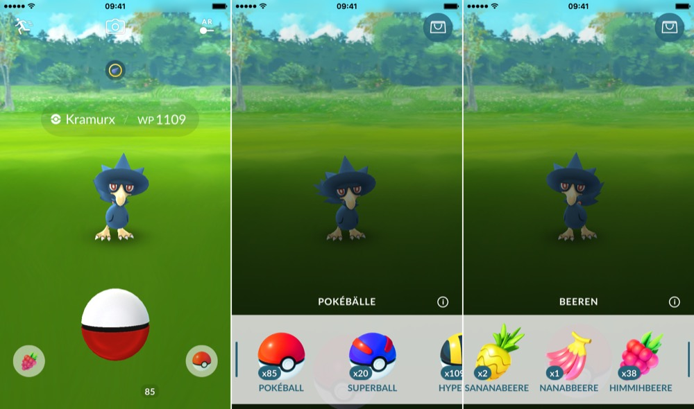 pokemon go fangen