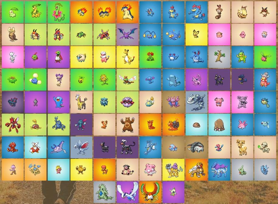 pokemon go zweite generation