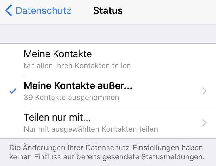 Whatsapp Status Wo Ist Der Alte Status Hin Weitere Fragen