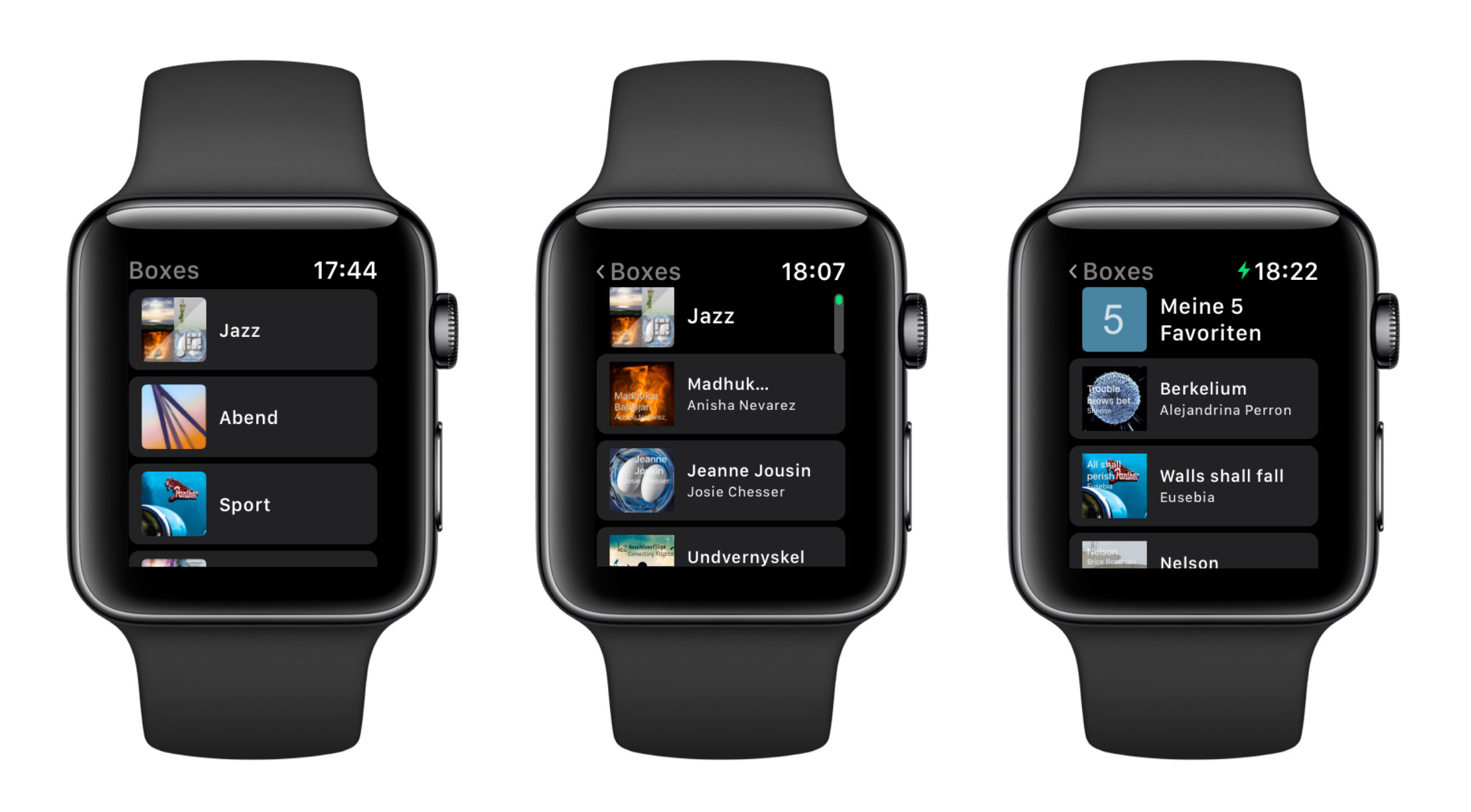 Albums Apple Watch