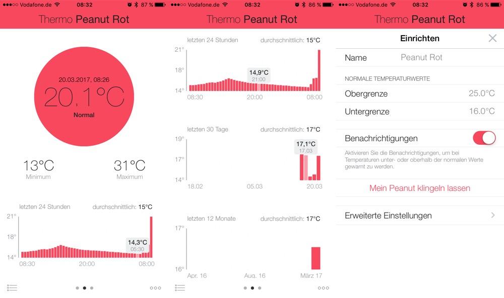 Sense ThermoPeanut App