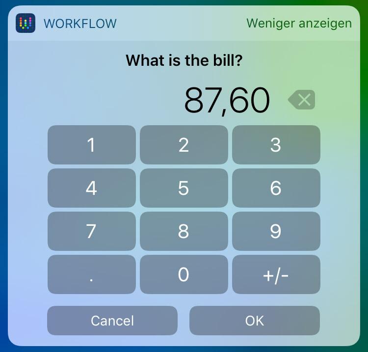 Workflow Widget 4