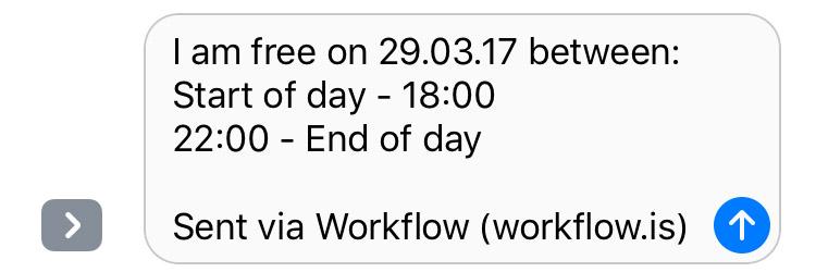 Workflow Widget 6