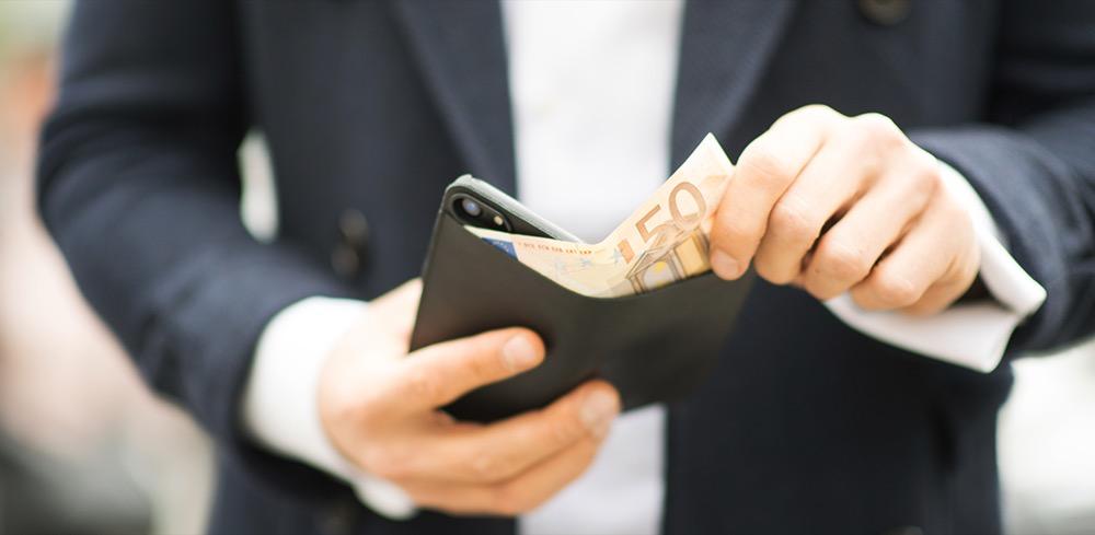 artwizz wallet case front
