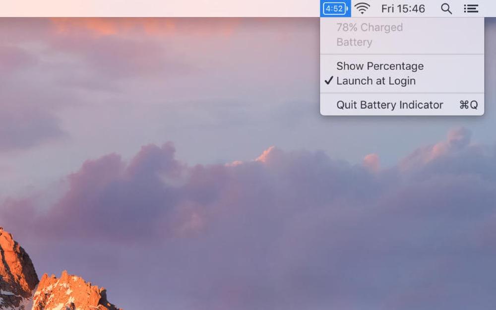 Battery Indicator Mac