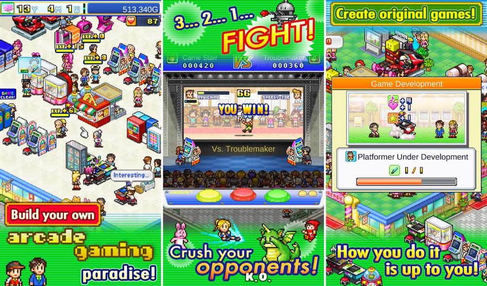 Pocket Arcade Story