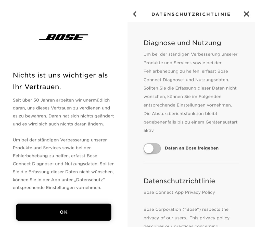 Bose Connect Update