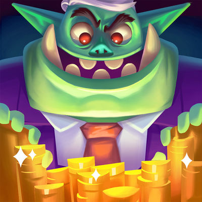 dungeon inc neuer idle clicker wird momentan von apple. Black Bedroom Furniture Sets. Home Design Ideas