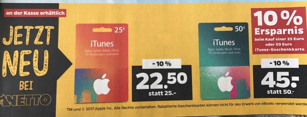 Netto iTunes