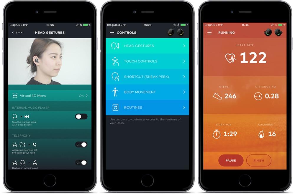 the dash app
