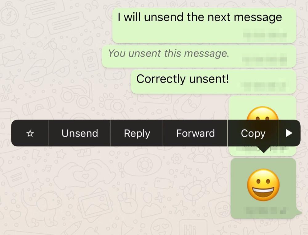 whatsapp nachrichten loeschen