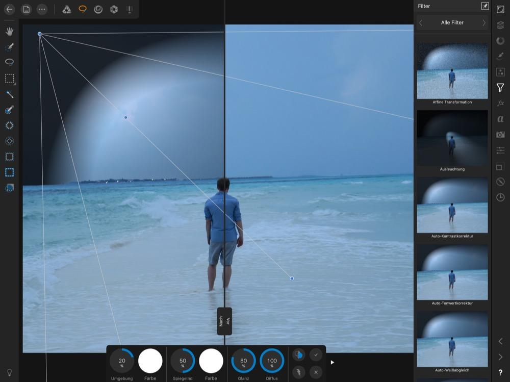 Affinity Photo fuer iPad 1