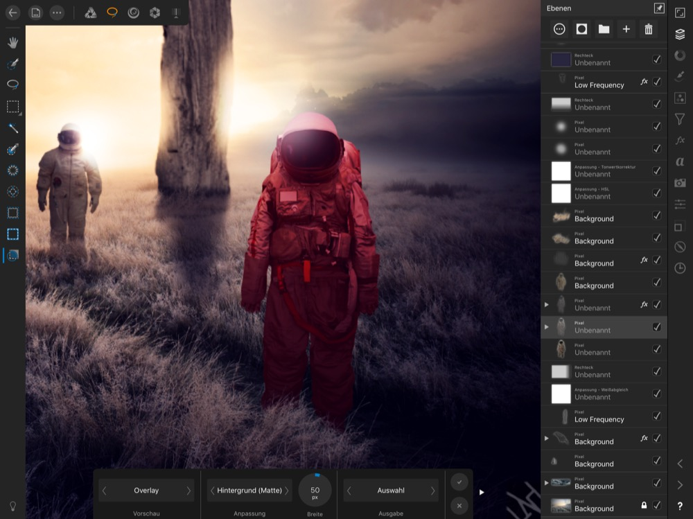 Affinity Photo fuer iPad 2